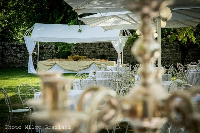 Abbazia di Sant'Andrea location per matrimoni banchetto