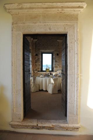 Abbazia di Sant'Andrea location per matrimoni sala interna