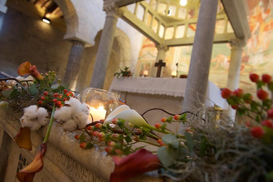 Abbazia di Sant'Andrea Addobbi chiesa