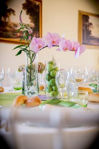 Abbazia di Sant'Andrea location per matrimoni tavolo invitati