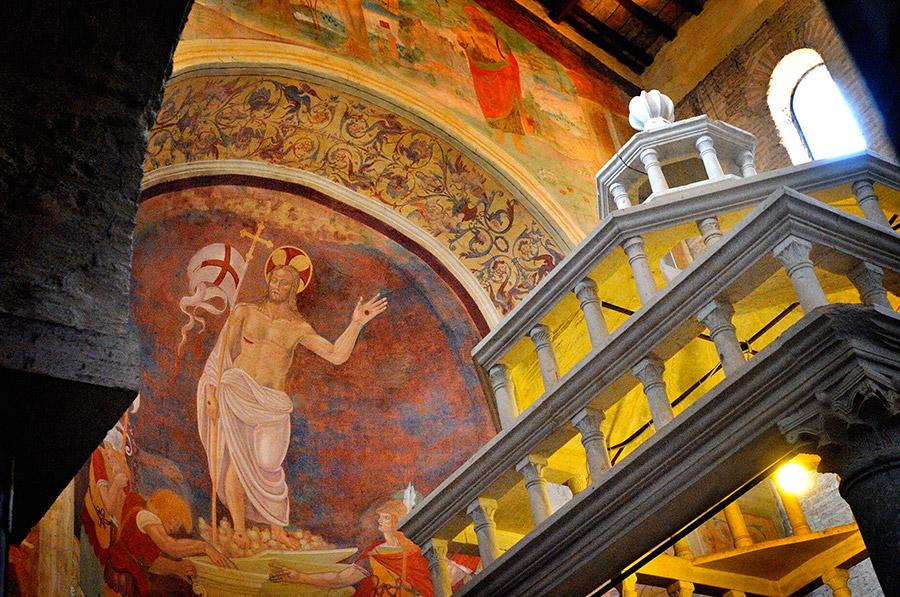 Abbazia di Sant'Andrea nterno chiesa