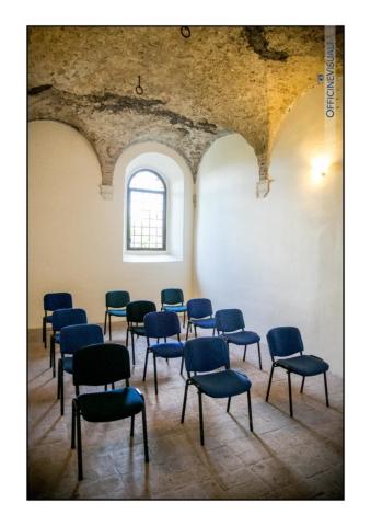 Location eventi sala piccola Abbazia Sant'Andrea